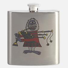 Unique Bagpipes Flask