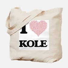 Cute Kole Tote Bag