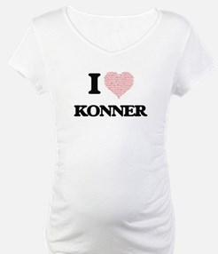 I Love Konner (Heart Made from L Shirt