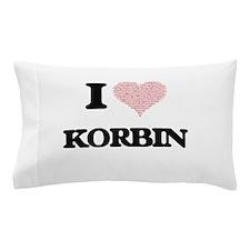 I Love Korbin (Heart Made from Love wo Pillow Case
