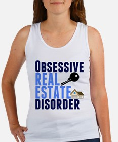Funny Real Estate Women's Tank Top