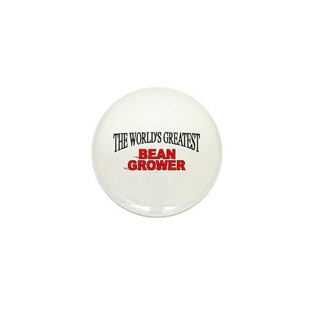 """The World's Greatest Bean Grower"" Mini Button"
