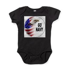Cute Patriotism Baby Bodysuit