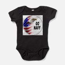 Cool Beat army Baby Bodysuit