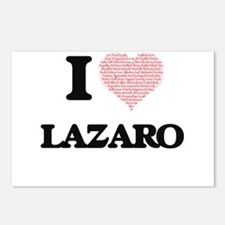 I Love Lazaro (Heart Made Postcards (Package of 8)