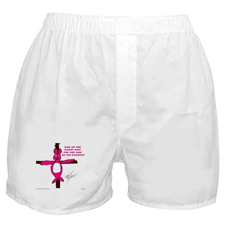 Crossed Bunny Boxer Shorts