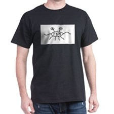 Unique Flying spaghetti monster T-Shirt