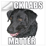 Black lab Wall Decals