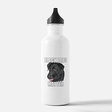 Black Labs Matter Two Water Bottle