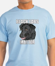 Black Labs Matter Two T-Shirt