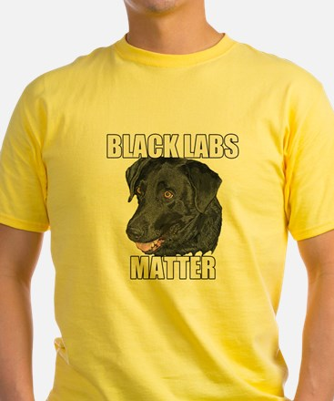 Black Labs Matter Two T