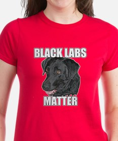 Black Labs Matter Two Tee