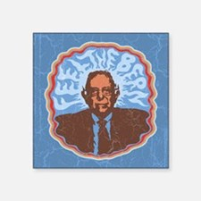 "Feel the Bern Tour Square Sticker 3"" x 3"""