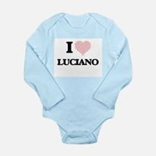 I Love Luciano (Heart Made from Love wor Body Suit