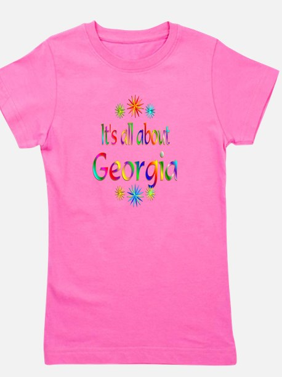 Cute Georgia Girl's Tee