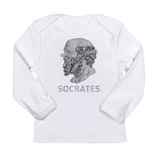 Cute Socrates Long Sleeve Infant T-Shirt
