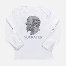 Unique Socrates Long Sleeve Infant T-Shirt