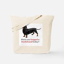Cute Dachshund dog Tote Bag