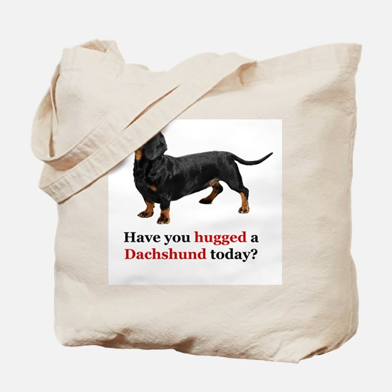 Cute Dachshund lovers Tote Bag