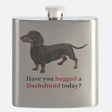 Cute Dachshund lovers Flask