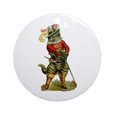 Puss In Boots Ornament (Round)