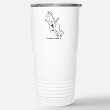 Cute Horsey Travel Mug