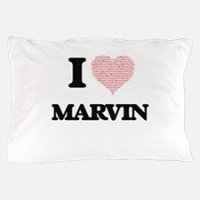 I Love Marvin (Heart Made from Love wo Pillow Case