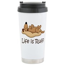 Unique Ruff Travel Mug