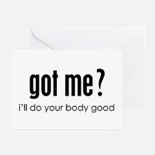 got me? Greeting Cards (Pk of 10)