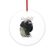 Mastiff(brindle)Mom2 Ornament (Round)