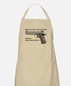 Better to have Apron