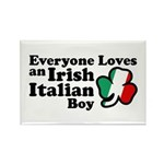 Everyone Loves an Irish Italian Boy Rectangle Magn