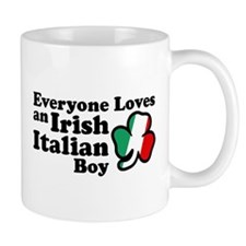 Everyone Loves an Irish Italian Boy Mug