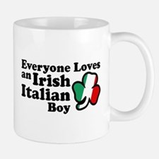 Everyone Loves an Irish Italian Boy Mug