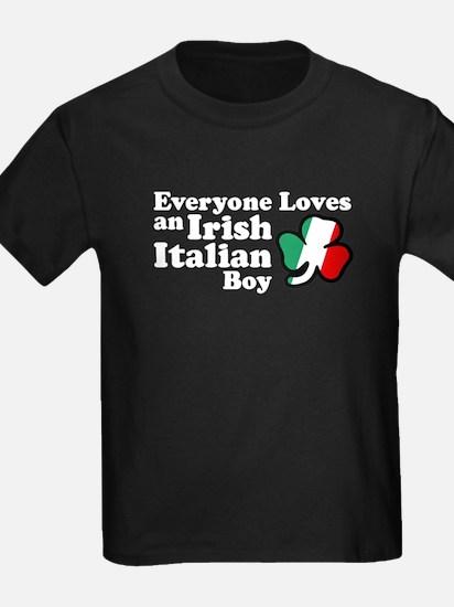 Everyone Loves an Irish Italian Boy T