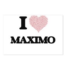 I Love Maximo (Heart Made Postcards (Package of 8)