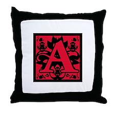 Scarlet Letter Throw Pillow