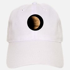 Eclipse with clouds Baseball Baseball Cap