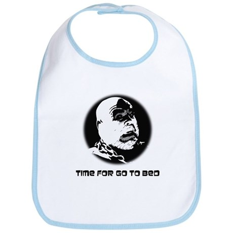 Time For Go To Bed Bib