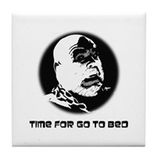 Time For Go To Bed Tile Coaster
