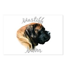 Mastiff(apricot)Mom2 Postcards (Package of 8)