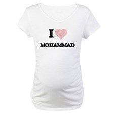 I Love Mohammad (Heart Made from Shirt