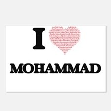 I Love Mohammad (Heart Ma Postcards (Package of 8)
