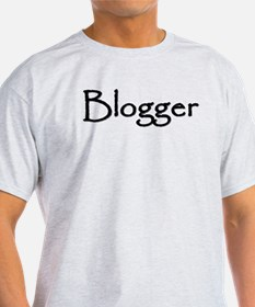 Blogger Gear Ash Grey T-Shirt
