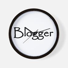 Blogger Gear Wall Clock
