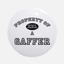 Property of a Gaffer Ornament (Round)