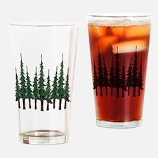 Unique Pine Drinking Glass