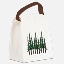 Cute Tree Canvas Lunch Bag