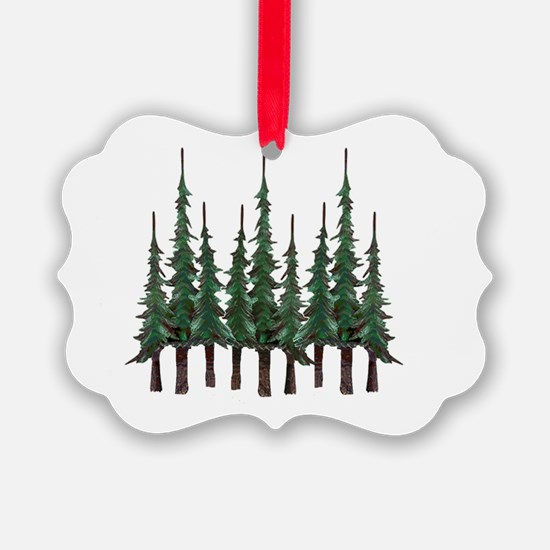 Cute Pine tree Ornament