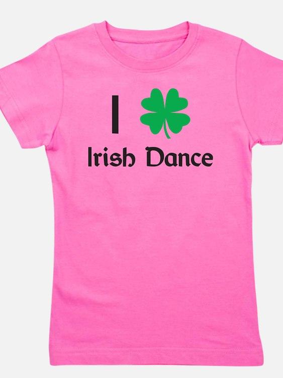 Cute Irish step dancing Girl's Tee